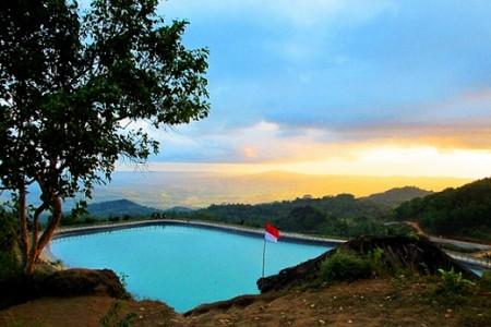Wisata Jogja Embung Nglanggeran Gunung Kidul
