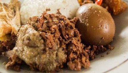 Wisata Kuliner Jogja Unik, Gudeg Bunga Kelapa