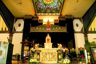 Gereja Ganjuran, Gereja Ala Jawa Ki Ageng Mangir