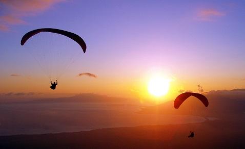 Paralayang Jogja, Melayang Tinggi Diatas Parangtritis