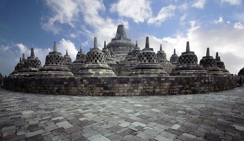 Candi Borobudur, Dengan Hubungan Alam Semesta