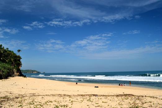 Nuansa Kuta Di Lokasi Wisata Jogja Pantai Sepanjang