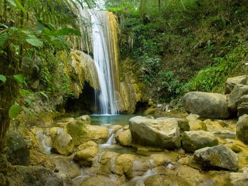 Wisata di Jogja Selain Pantai Curug Watu Sewu Di Kedalaman Hutan Giriloyo