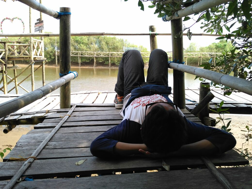 Terlelap di Hutan Mangrove Pantai Pasir Kadilangu Yang Mempesona