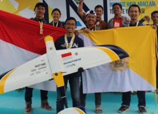 UGM Sukses Sabet Medali Perunggu di Kompetisi Pesawat Tanpa Awak Internasional