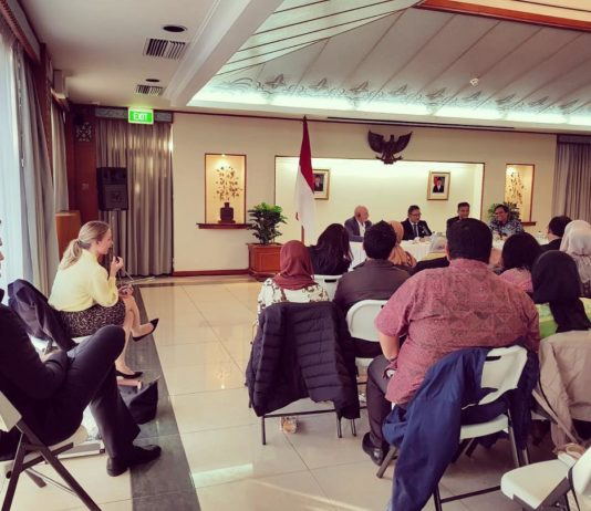 KBRI Canberra Mempromosikan Gudeg Jogja Kepada Warga Australia, Promo Pariwisata Indonesia