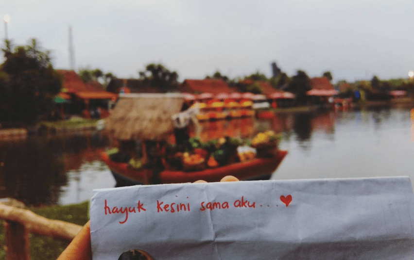 Pasar Apung Lembang, Tempat Rekreasi Dengan Konsep Kota Mini Banyak Wahana