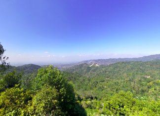 Puncak Gunung Lanang Kulon Progo, Perbukitan Menoreh Yang Mempesona