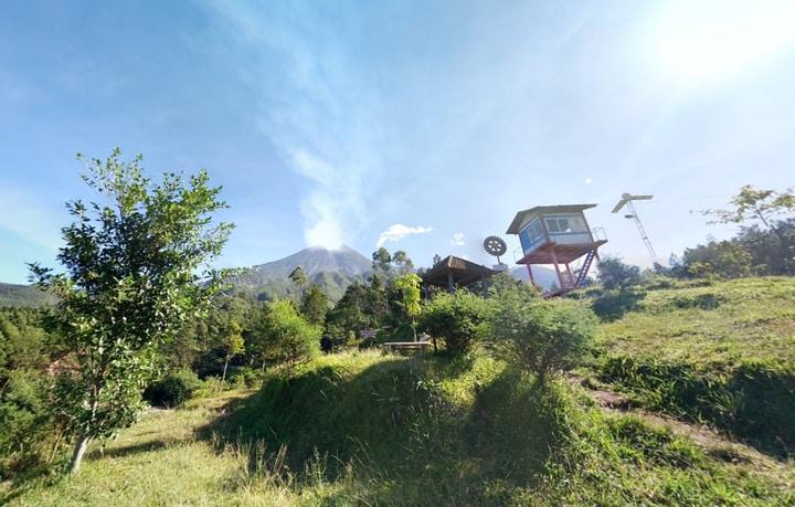 Bukit Klangon Glagaharjo: Melihat Lebih Dekat GagahNya Merapi